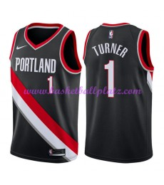 Portland Trail Blazers Trikot Herren 2018-19 Evan Turner 1# Icon Edition Basketball Trikots NBA Swin..